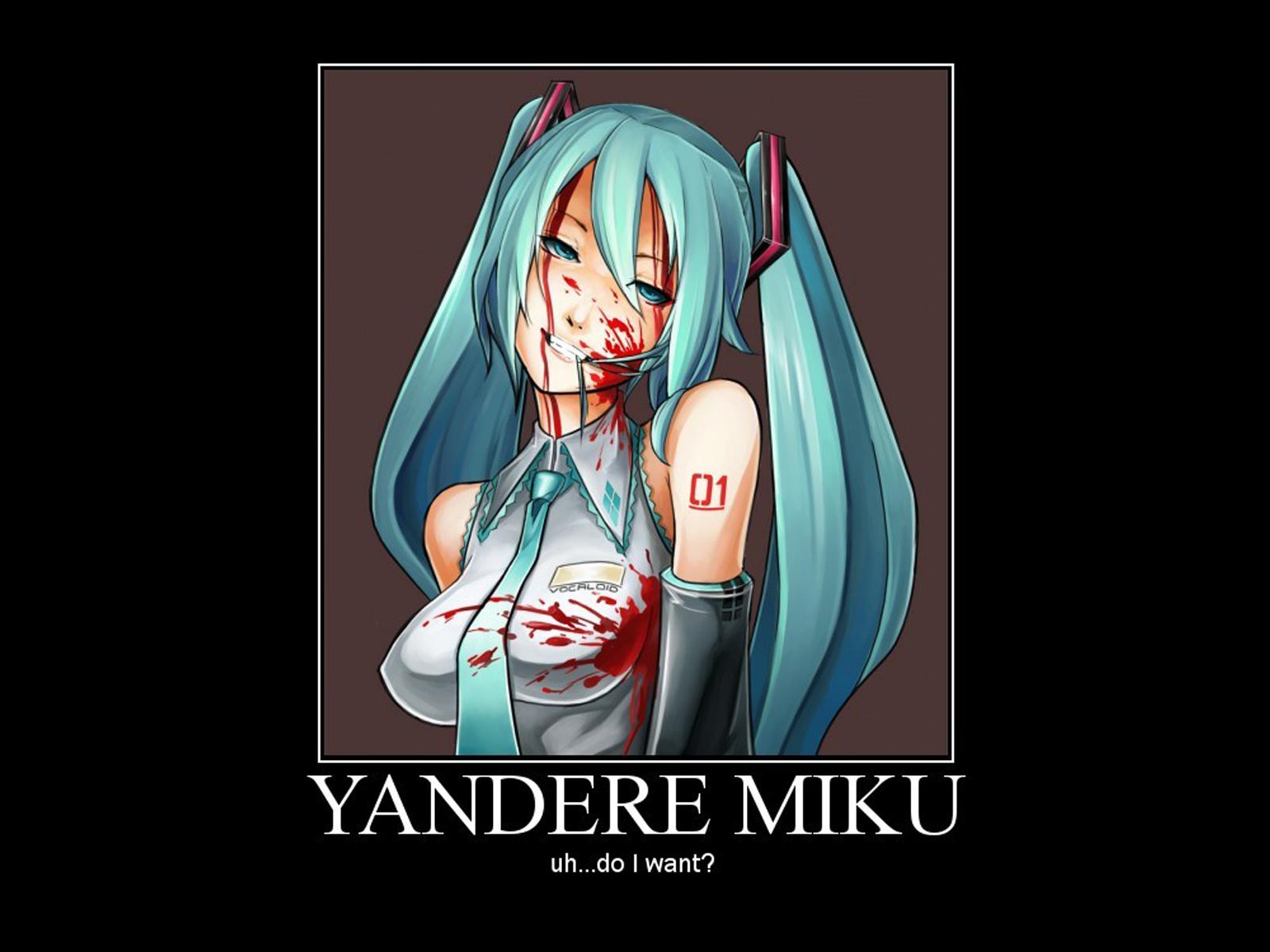 Yandere Hatsune Miku X Male Reader Wattpad